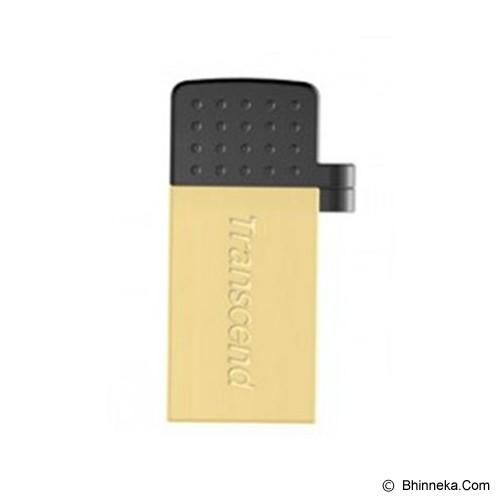 TRANSCEND OTG 380 16GB [TS16GJF380G] - Usb Flash Disk Dual Drive / Otg